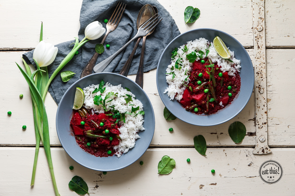 Rote Bete Curry