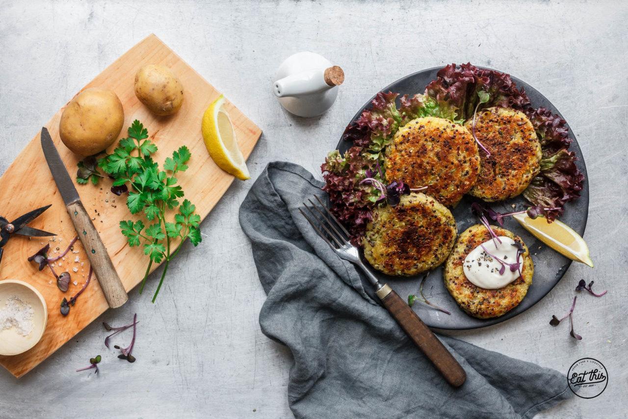 Kartoffel-Quinoa-Patties