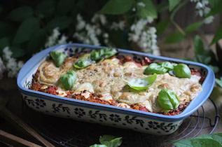 Lauch-Cannelloni mit Grünkern & Tomaten