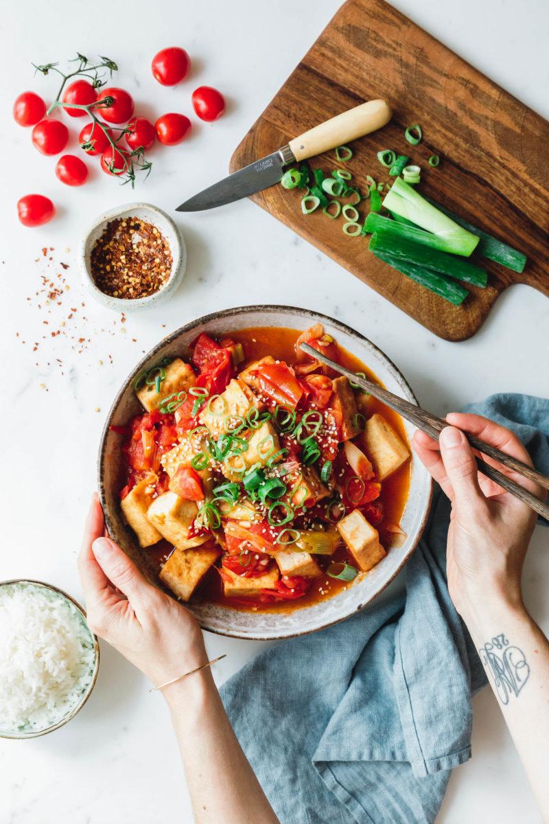 Vietnamesischer Tomaten-Tofu